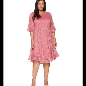 Kiyonna Livi Lace Plus Size Dress Size 2